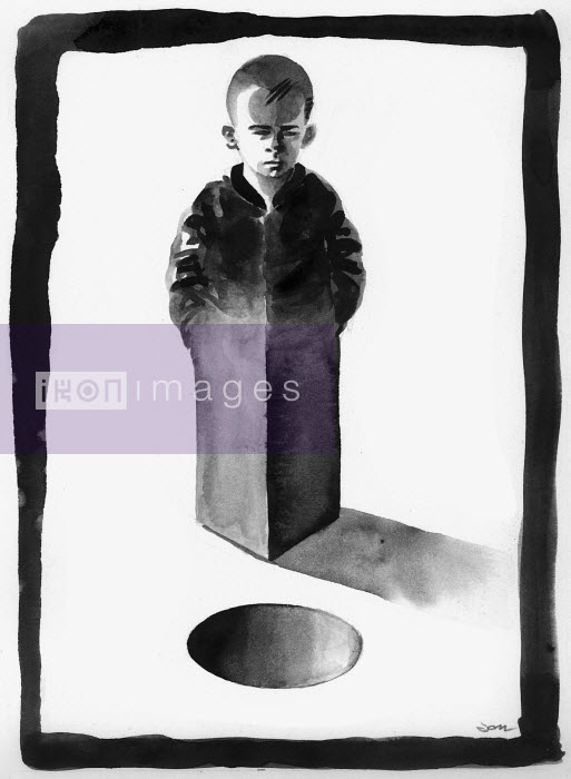 Square boy looking at round hole - Square boy looking at round hole - Jon Berkeley