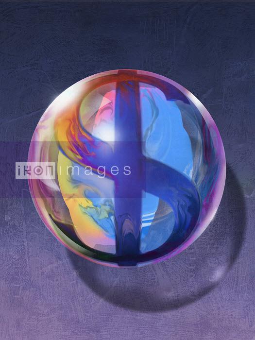Sphere with dollar sign - Sphere with dollar sign - Jon Berkeley