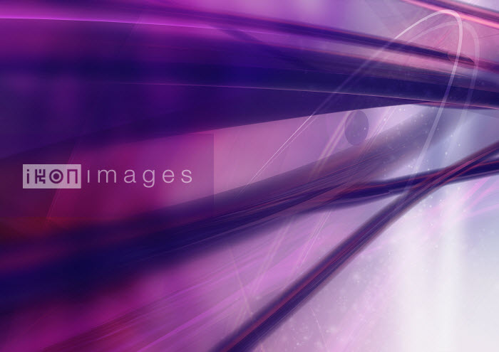 Aeriform - Abstract image of purple streaks