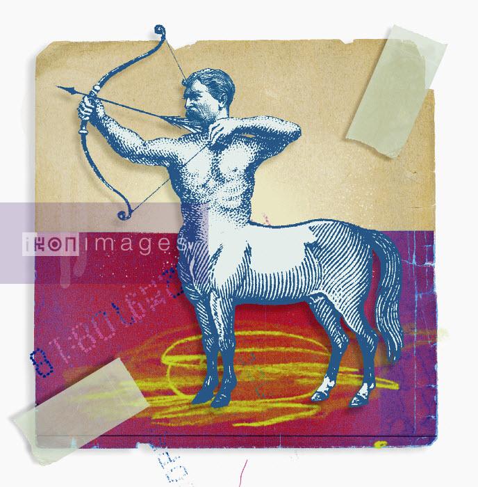 Montage of zodiac Sagittarius - Montage of zodiac Sagittarius - Matt Herring