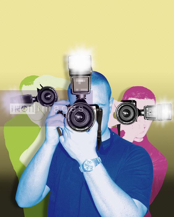 Paparazzi photographers - Paparazzi photographers - Matt Herring