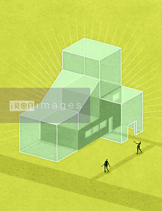 People imagining a new, expanded factory building - People imagining a new, expanded factory building - Matt Kenyon