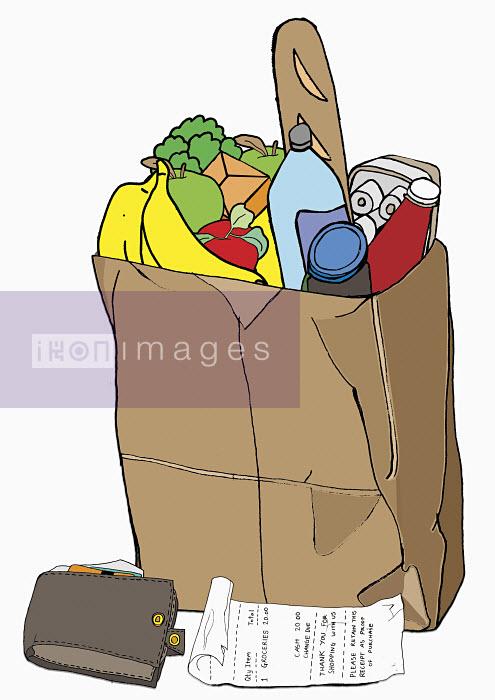 Bag full of groceries - Bag full of groceries - Oliver Hydes