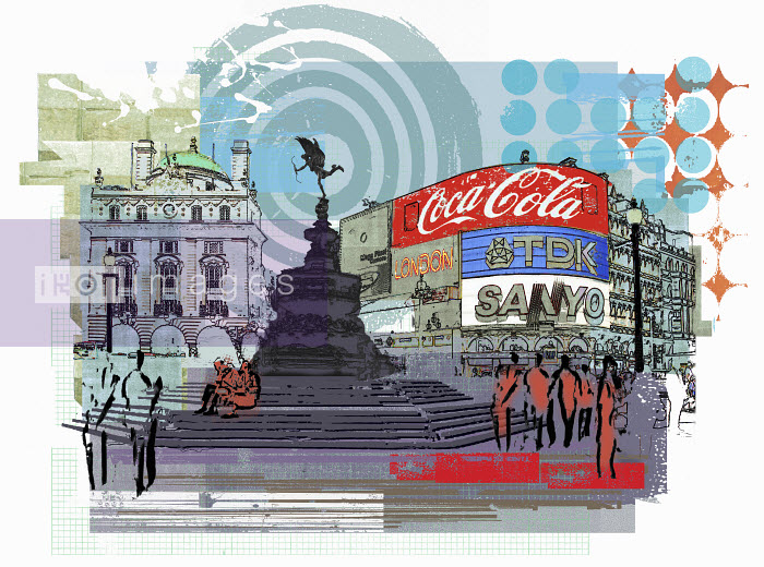 Statue of Eros, Piccadilly Circus, London - Statue of Eros, Piccadilly Circus, London - Sarah Jones