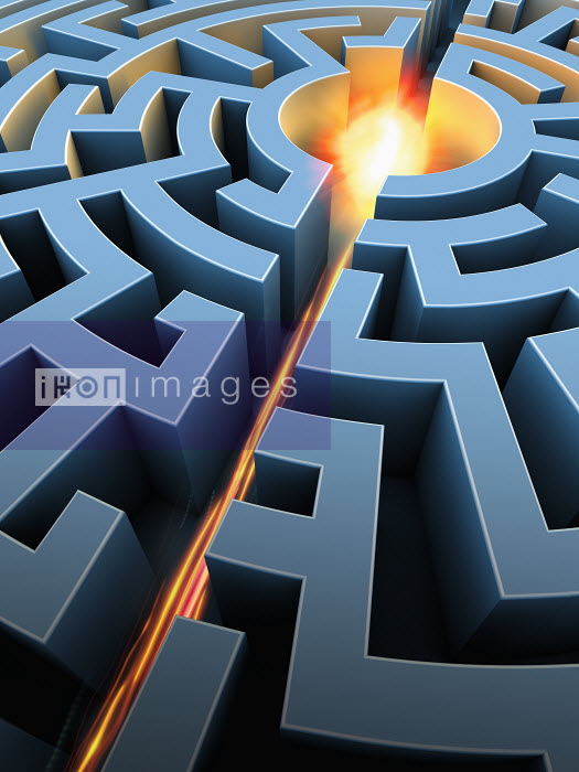 Glowing center of maze - Glowing center of maze - Magictorch