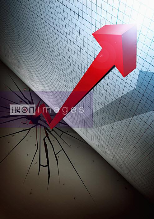 Arrow cracking ground - Arrow cracking ground - Magictorch