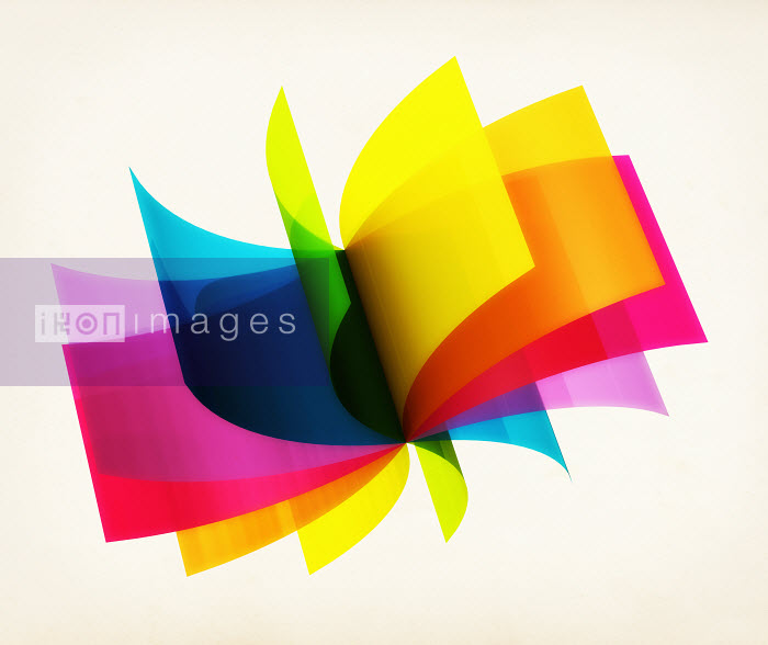 Rotating colorful sheets - Rotating colorful sheets - Magictorch