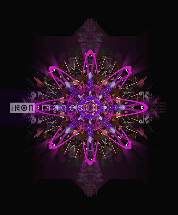 Purple kaleidoscope pattern - Purple kaleidoscope pattern - Jason Jaroslav Cook