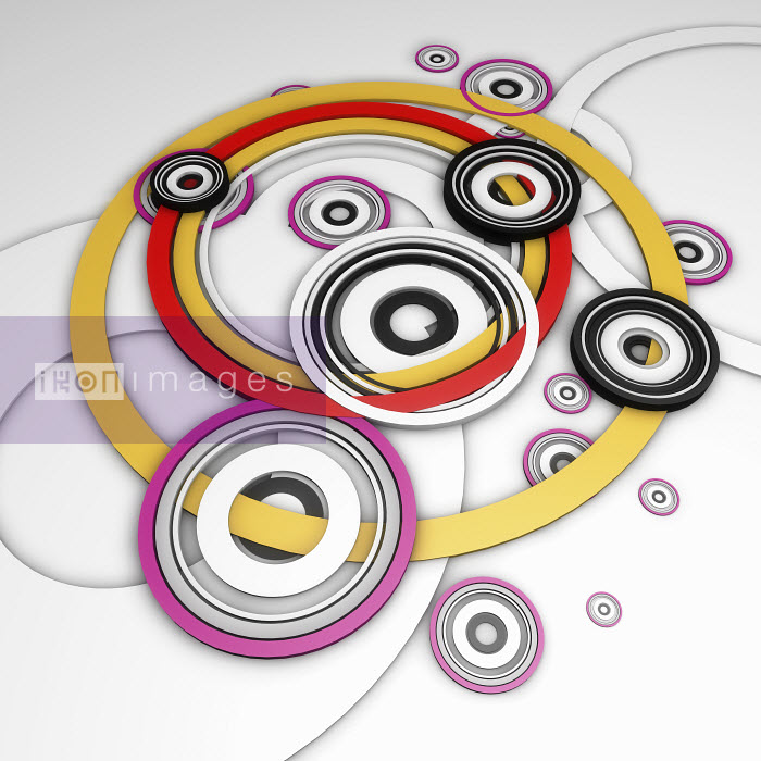 Overlapping interconnected concentric circle pattern - Overlapping interconnected concentric circle pattern - Jason Jaroslav Cook