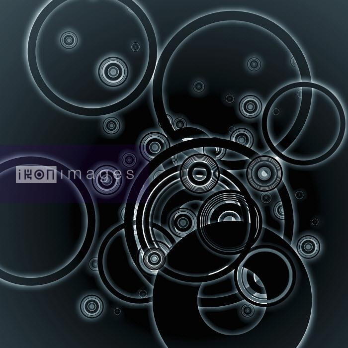 Negative image of overlapping interconnected concentric circle pattern - Negative image of overlapping interconnected concentric circle pattern - Jason Jaroslav Cook
