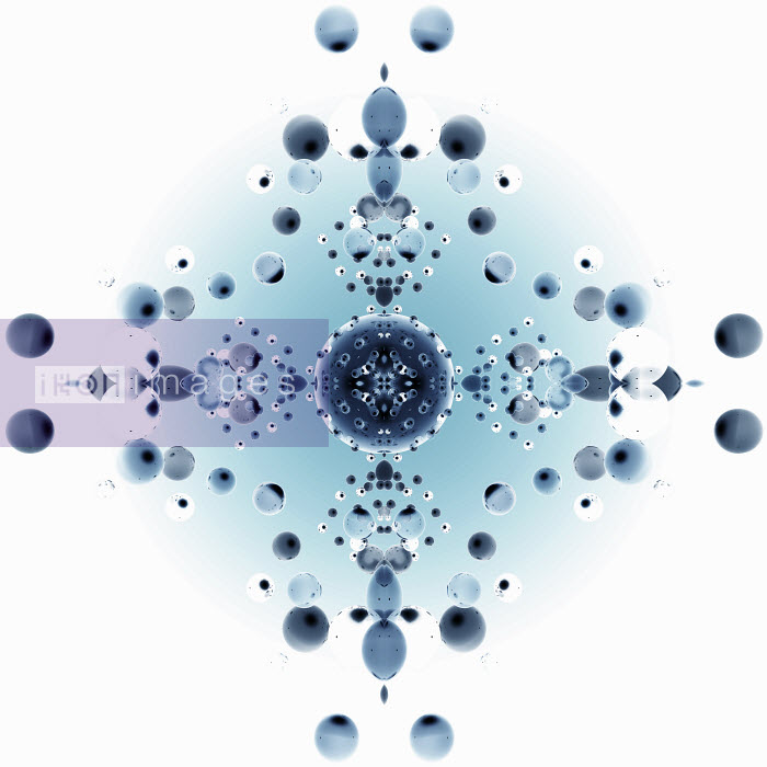 Ovals and spheres in abstract geometric kaleidoscope pattern - Ovals and spheres in abstract geometric kaleidoscope pattern - Jason Jaroslav Cook