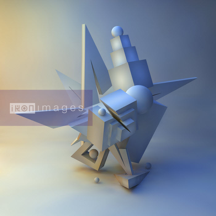 Abstract three dimensional architectural sculpture - Abstract three dimensional architectural sculpture - Jason Jaroslav Cook