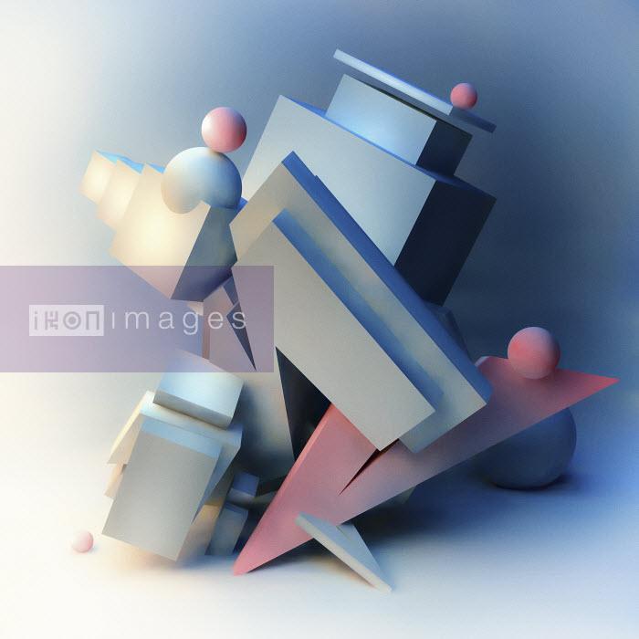 Abstract three dimensional architectural sculpture - Abstract three dimensional architectural sculpture - Jason Jaroslav Cook