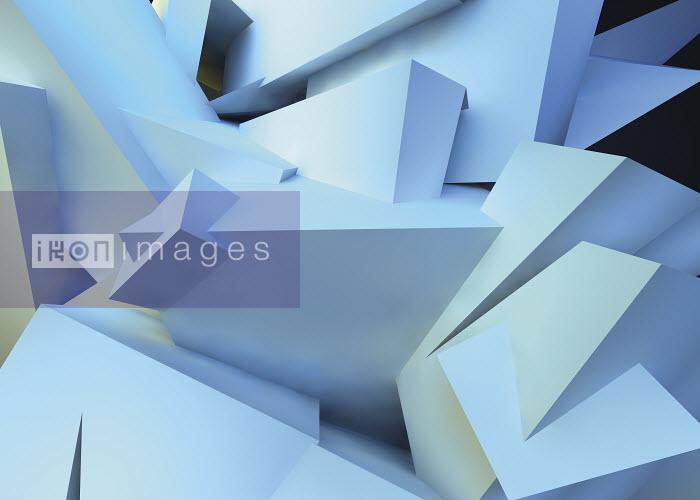 Abstract three dimensional angular backgrounds pattern - Abstract three dimensional angular backgrounds pattern - Jason Jaroslav Cook