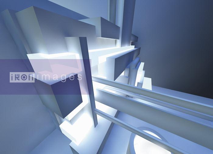 Abstract three dimensional architectural structure - Abstract three dimensional architectural structure - Jason Jaroslav Cook