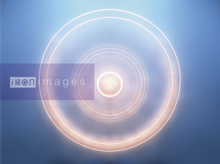 Glowing concentric spinning circles - Glowing concentric spinning circles - Jason Jaroslav Cook