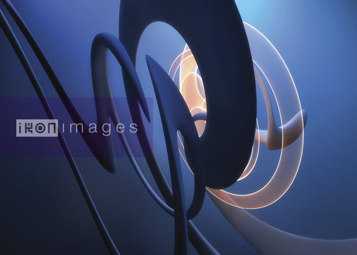 Abstract swirling squiggle pattern - Abstract swirling squiggle pattern - Jason Jaroslav Cook