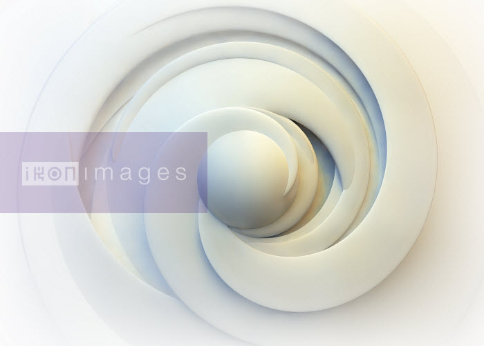 Abstract swirling cream spiral pattern - Abstract swirling cream spiral pattern - Jason Jaroslav Cook