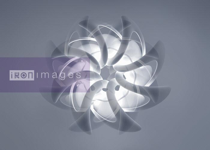 Abstract translucent multi-layered spinning pattern - Abstract translucent multi-layered spinning pattern - Jason Jaroslav Cook
