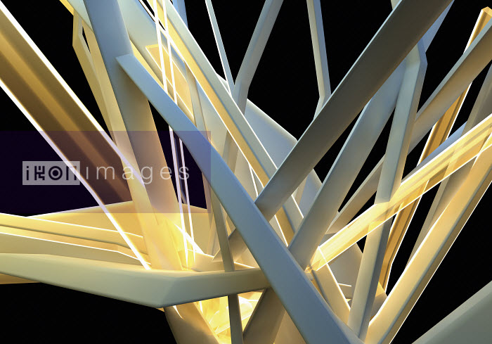 Abstract structure of light beams and girders - Abstract structure of light beams and girders - Jason Jaroslav Cook