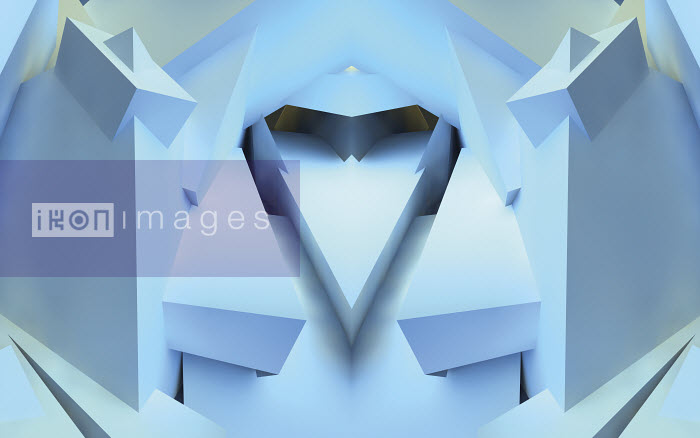 Abstract three dimensional symmetrical pattern - Abstract three dimensional symmetrical pattern - Jason Jaroslav Cook