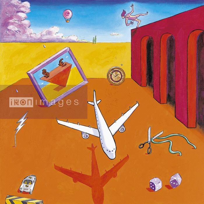 5RISK.TIF - Plane crashing - Gary Bates