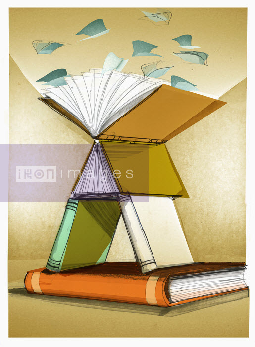 Stack of books - Stack of books - Alex Green