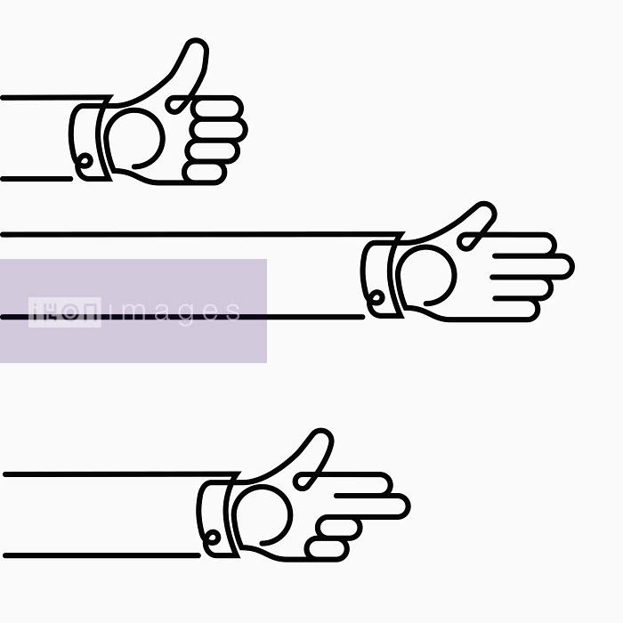 Hands gesturing - Hands gesturing - Will Scobie