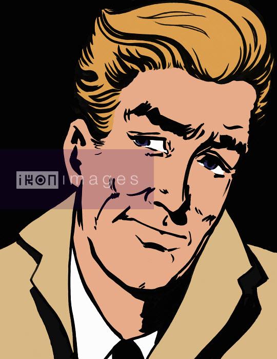 Close up of pensive man - Close up of pensive man - Jacquie Boyd