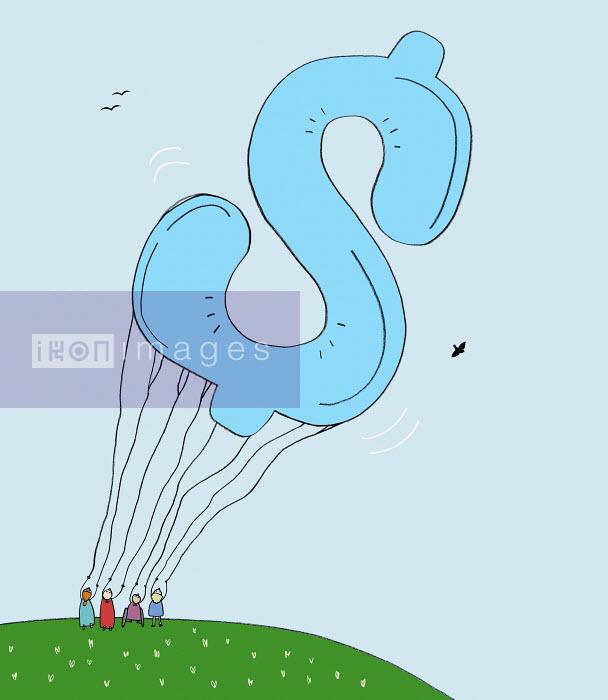 Craig Shuttlewood - Large dollar sign balloon