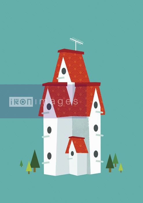 Tall birdhouse - Tall birdhouse - Yee Ting Kuit