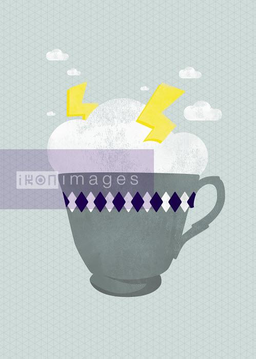 Lightning storm in teacup - Lightning storm in teacup - Yee Ting Kuit