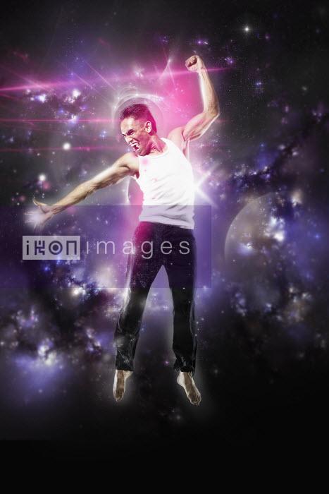 Pete Harrison/Nick White - Happy man dancing