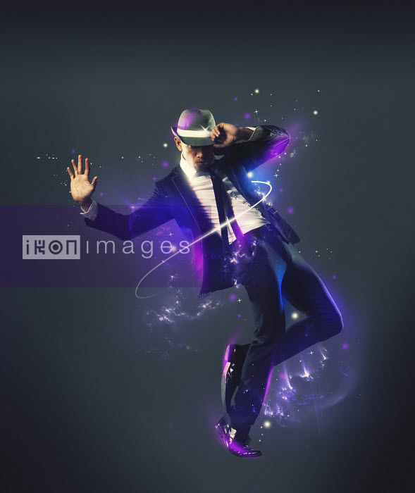 Pete Harrison/Nick White - Fashionable man dancing