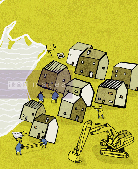 Jonathan Croft - People moving houses away from flood
