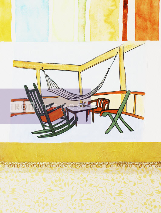 Stephanie Levy - Hammock and patio furniture