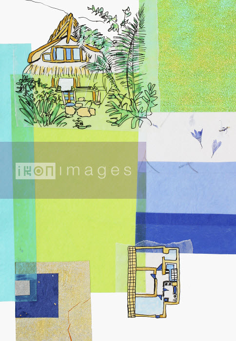 Stephanie Levy - Country cottage and floor plan