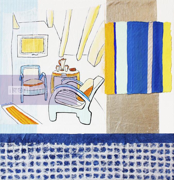 Stephanie Levy - Living room