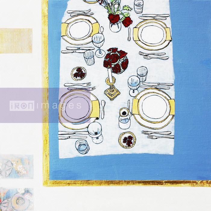 Stephanie Levy - Elegant dinner table