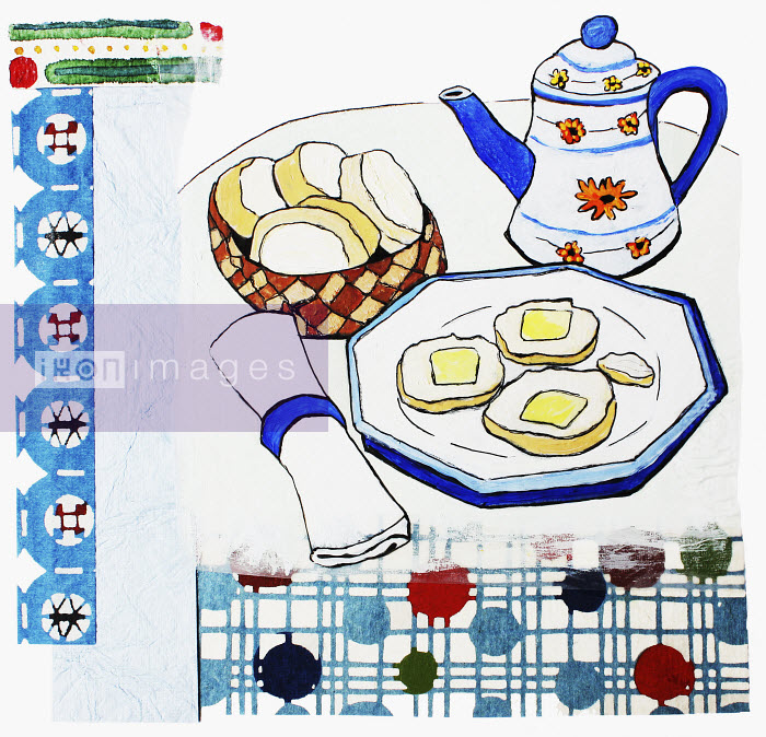Stephanie Levy - Tea and crumpets