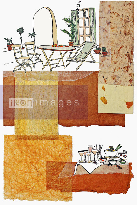 Stephanie Levy - Food and drink and patio table