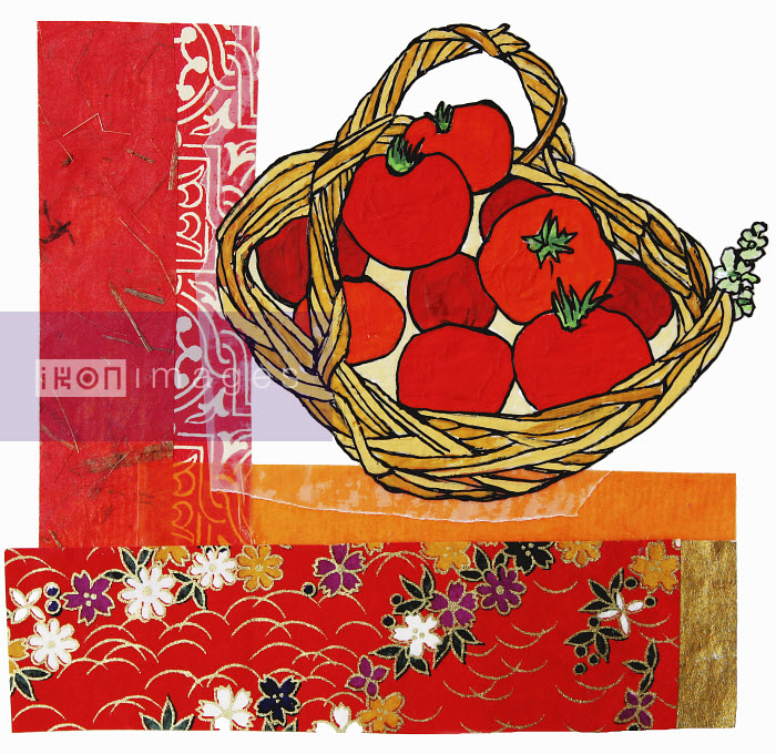 Stephanie Levy - Tomatoes in basket