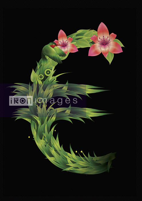Blooming euro symbol Thomas Burden