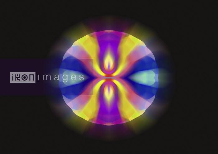 Abstract colorful sphere - Abstract colorful sphere - Studio Parris Wakefield