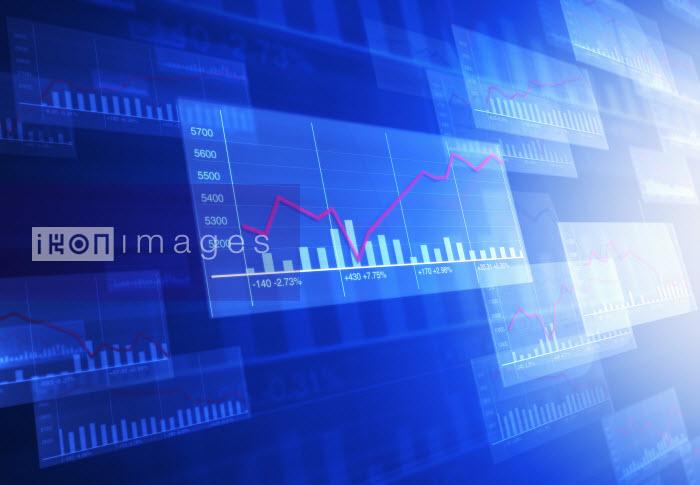 Overlapping illuminated bar charts and graphs - Overlapping illuminated bar charts and graphs - Saul Gravy