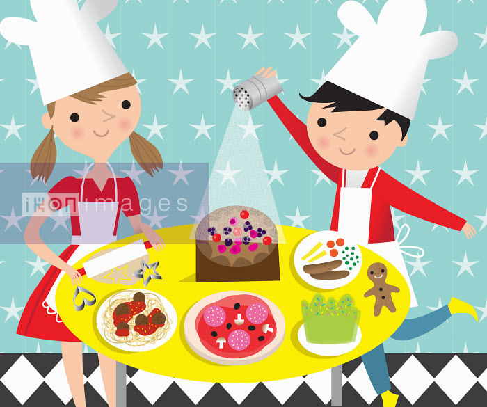 Nila Aye - Children cooking and baking favourite food