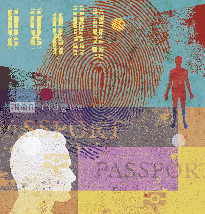 Lee Woodgate - Man, chromosomes, fingerprint and passport