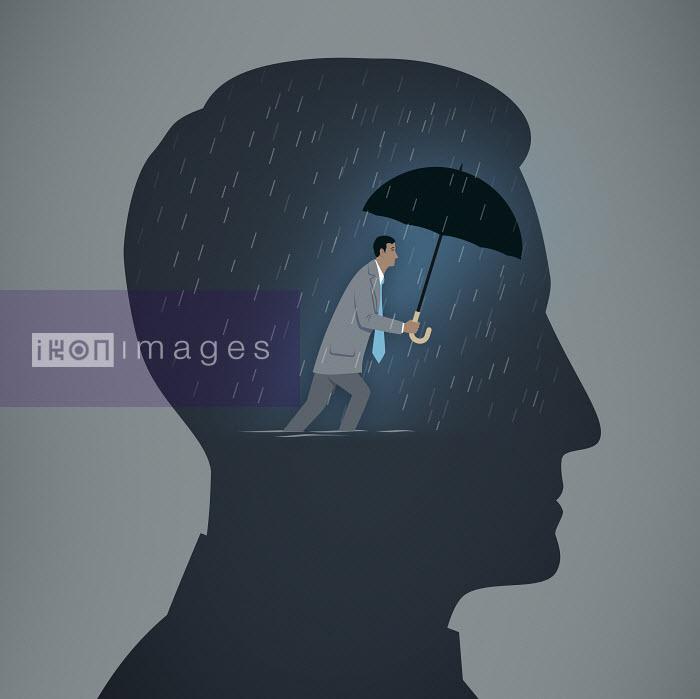 Mark Airs - Man struggles against depression