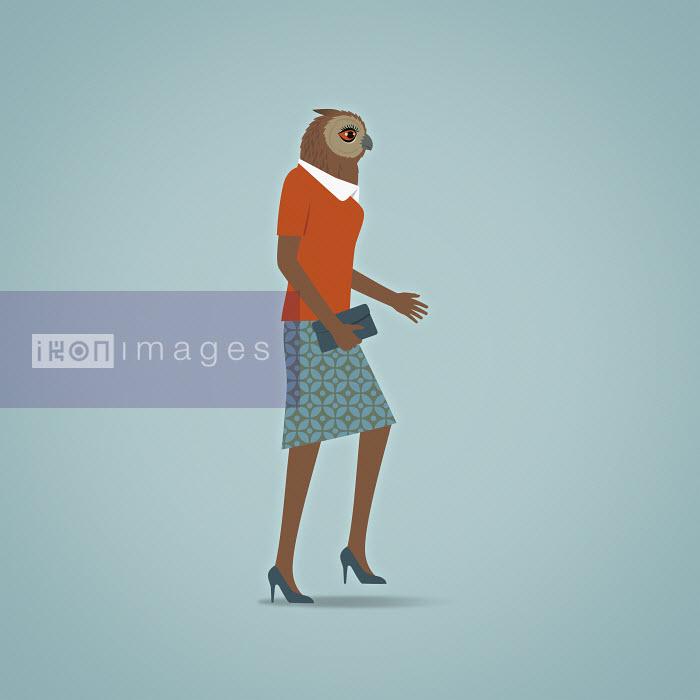 Wise businesswoman - Wise businesswoman - Mark Airs