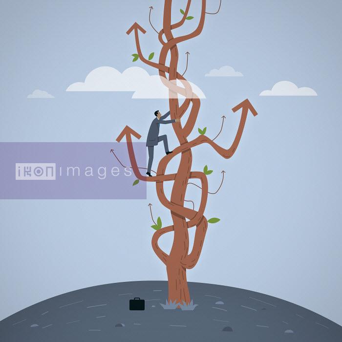 Mark Airs - Businessman climbs the ladder of success